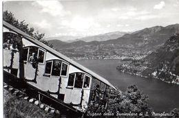 LUGANO - FUNICOLARE S.MARGHERITA - VG 1959 FG - C761 - TI Ticino