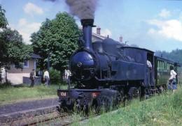 AL 420 - Train - Loco 020+020 T N° 104 En Gare - CHAMBOULIVE  - Corrèze 19 - POC - France