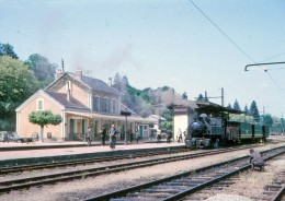 AL 487 - Train - Locomotive 020+020 T N° 104 En Gare - UZERCHE - Corrèze 19 - POC - Uzerche