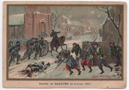 Militaria/Guerre De 1870/Image Pédagogique/Bataille De BAPAUME/Dessinateur Germain/Vers 1900 IMA288 - Autres