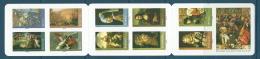 CARNET     (  BC 150 ) ADHESIF C OEUVRE PEINTURE 2008 ( 4132 ) .....BANDE NON PLIEE - Commemoratives