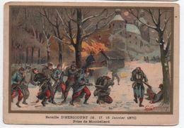 Militaria/Guerre De 1870/Image Pédagogique/Bataille D'HERICOURT/Montbéliard/Dessinateur Germain/Vers 1900 IMA291 - Autres