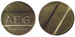 00824 GETTONE TOKEN JETON AUSTRIA WASHING MACHINE AEG - Tokens & Medals