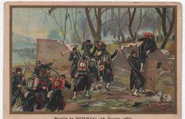 Militaria/Guerre De 1870/Image Pédagogique/Bataille De BUZENVAL/ Dessinateur Germain/Vers 1900 IMA293 - Autres