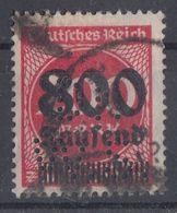 DR Minr.303 Gestempelt Perfin - Deutschland