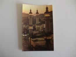 Postcard Postal Saudi Arabia The Minerates Of The Holy Mosque Mecca - Saudi Arabia