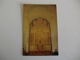 Postcard Postal India St. Ignatius Altar Bom Jesus Basilica Old Goa - India