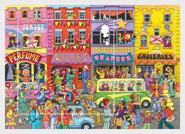 Jersey 2018 - Popular Culture – The 1960s Souvenir Sheet Mnh - Jersey