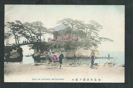 Japon . View Of Godaido ,Matsushima - Japan