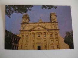 Postcard Postal India St Cajetan`s Church Old Goa - India