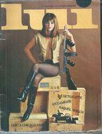 LUI  N° 27 MARS 1966 - Sans Le Poster D'ASLAN, Incomplet  ( NUS - NUE - NU ) RAQUEL WELCH - Erotik (...-1960)