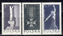 PL+ Polen 1964 Mi 1533-35 Mnh Märtyrertum - 1944-.... Republic