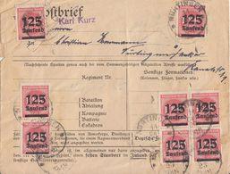 DR Brief Mef Minr.20x 291 Nürtingen 11.10.23 - Deutschland