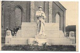 Kemseke, Standbeeld Der Oologsgesneuvelden 1914-18, Verstuurd - Stekene