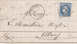 376   LAC  CERES  60  -  27.6.74  -  BEAUJEU  à  ELBEUF - Postmark Collection (Covers)