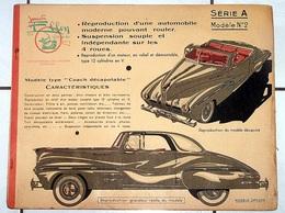 """""""JOUETS ELLEN"""" A N°2 *COACH DECAPOTABLE* Reproduction Automobile Pouvant Rouler - Maquettisme"""