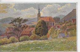 AK 0850  Hilders ( Rhön ) Künstlerkarte V.  P. Schmiegelow / Verlag Mandt Ca. Um 1920 - Hilders