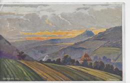 AK 0850  Fuldatal Mit Ebersburg  ( Rhön ) - Künstlerkarte V.  P. Schmiegelow / Verlag Mandt Ca. Um 1920 - Fulda
