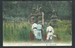 Japon.  Tomb Stone Soga Brothers - Japan