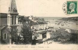 BELLE ISLE EN MER SAUZON PANORAMA FEMME ARTISTE PEINTRE - Belle Ile En Mer