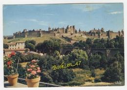 {76385} 11 Aude Cité De Carcassonne , Vue Générale - Carcassonne