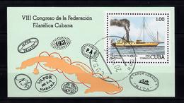 Cuba 1982 Mi Nr Blok 74, Radarboot , Ship - Cuba