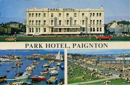 DEVON - PAIGNTON - 2 CARDS OF THE PARK HOTEL P29-30 - Paignton
