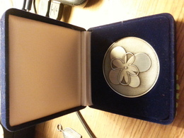 Medal - Penning- Speedwell 1948 - 2008 Michael J Demko - Claiborne County  - Tennessee - Samoa Americana