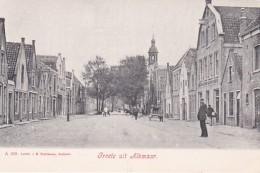 3575418Groete Uit Alkmaar, Laat ? Met Kapelkerk (minuscule Vouwen In De Hoeken) - Alkmaar