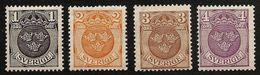 SWEDEN SVERIGE 1911/1919 - Coat Of ARMS / 3 Crowns - Compl Mi 84-67 MNH ** J734 - Suède