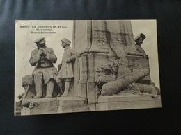 Ancienne Cp LE CREUSOT Monument HENRI SCHNEIDER - Le Creusot