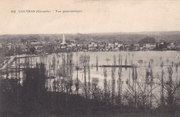 COUTRAS - GIRONDE  -  (33) -  CPA DE 1916. - France
