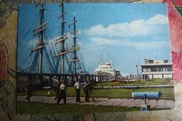 USSR. LATVIA Riga - Sea Station -  Old Postcard - 1950s - Lituania