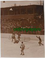 Altes Groß- Foto Olympische Winterspiele Olympiade Garmisch Eishockey Österreich - Polen 1936 - Other