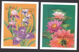 Tanzania, Scott #2026-2027, Mint Never Hinged, Flowers, Issued 1999 - Tanzanie (1964-...)