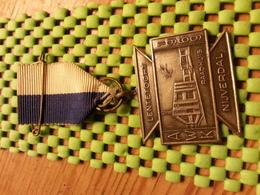 Medaille  / Medal - Lentertocht A.W.K Nijverdal 1969 ( Raadhuis )  - The Netherlands - Netherland