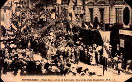 CPA - Loir Et Cher - Montrichard - Fêtes Des 15,16 Et 17/08/1908 - Char De La Diane Chasseresse - Montrichard