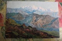 "Efanov - ""Himalayas "". 1955  HIMALAYA - Old USSR PC - Tibet"