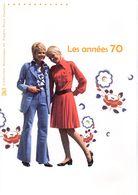 """"""" LES ANNEES 70 """" Sur Document Philatélique Officiel De 4 Pages De 2016.  N° YT F5056. Parfait état DPO - Documents De La Poste"""