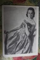 Piano In Art - Menzel - Portrait Of The Pianist Merker  - Postcard 1958 - Musique Et Musiciens