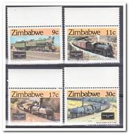 Zimbabwe 1985, Postfris MNH, Trains - Zimbabwe (1980-...)