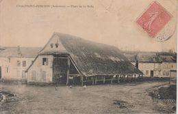 CPA Chaumont-Porcien - Place De La Halle - France