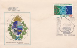 FDC - AUTOMATIZACION CAPITALES DEL INTERIOR, ANTEL.-URUGUAY-TBE-BLEUP - Uruguay