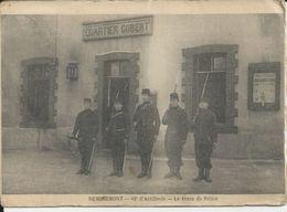 REMIREMONT 62 ARTILLERIE LE POSTE DE POLICE QUARTIER GOBERT CARTE GRAND FORMAT - Remiremont