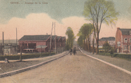 Givet - Avenue De La Gare - Colorisée - Givet