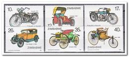 Zimbabwe 1986, Postfris MNH, Cars, Motors - Zimbabwe (1980-...)