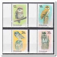 Zimbabwe 1987, Postfris MNH, Owls - Zimbabwe (1980-...)