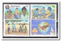Zimbabwe 1987, Postfris MNH, 75 Years Of Girl Scouts In Zimbabwe - Zimbabwe (1980-...)