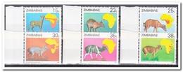 Zimbabwe 1987, Postfris MNH, Animals - Zimbabwe (1980-...)