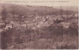 CPA Chaumont-Porcien - Vue Générale Prise De La Chapelle De Saint-Berthauld - France